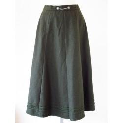 Jægergrøn dirndl nederdel-S