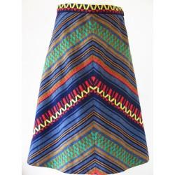 Mexicansk inspireret 70'er nederdel-M