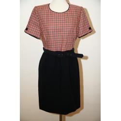 80'er kjole i 60'er stil-M