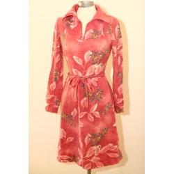 Lyserød 80'er kjole-XS