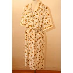 80'er kjole à la Hermès-M