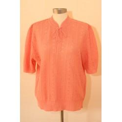 Lyserød 80'er trøje-L