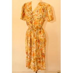 80'er kjole i 40'erne stil -M