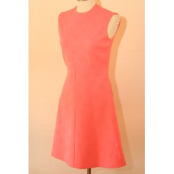 Pink 70'er kjole-XS